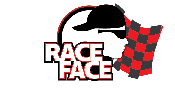 Race Face White Vector